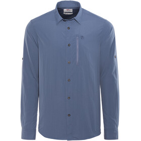 Fjällräven Abisko Hike Shirt LS Men uncle blue
